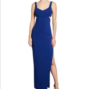 Likely Lilliana Sleeveless Gown w/ Side Cutouts